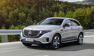 The Mercedes-Benz EQC is a fully electric SUV, and the first electric offering from Mercedes-Benz. The EQC has a host of safety features, as well as brings you a familiar environment in which to enjoy the electric revolution.