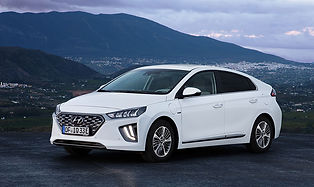 The Hyundai IONIQ Electric is the fully electric version of the plug-in hybrid. The Ioniq is a spacious, quick to charge electric vehicle  with aero-teardrop styling to reduce drag, this car is a great first electric car.