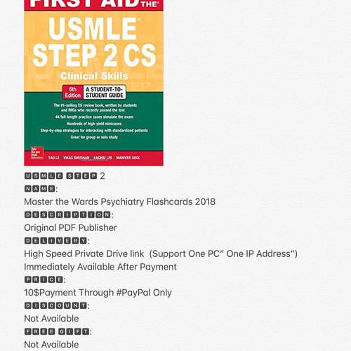 First Aid Step 2 Cs 6th Edition Pdf