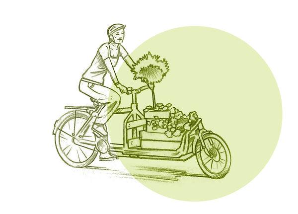 Widget Lastenrad Transporte