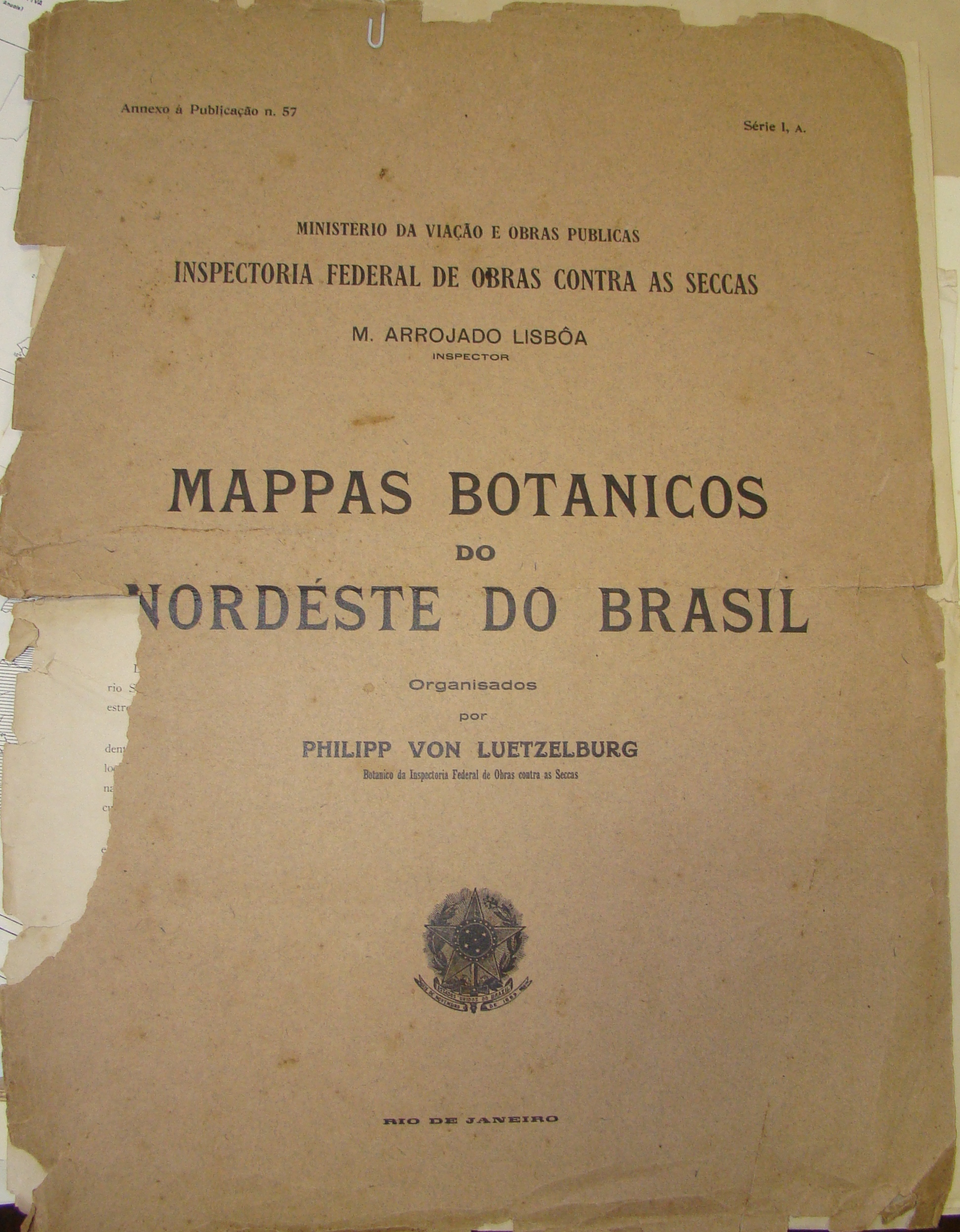Mapas Botânicos do Nordeste