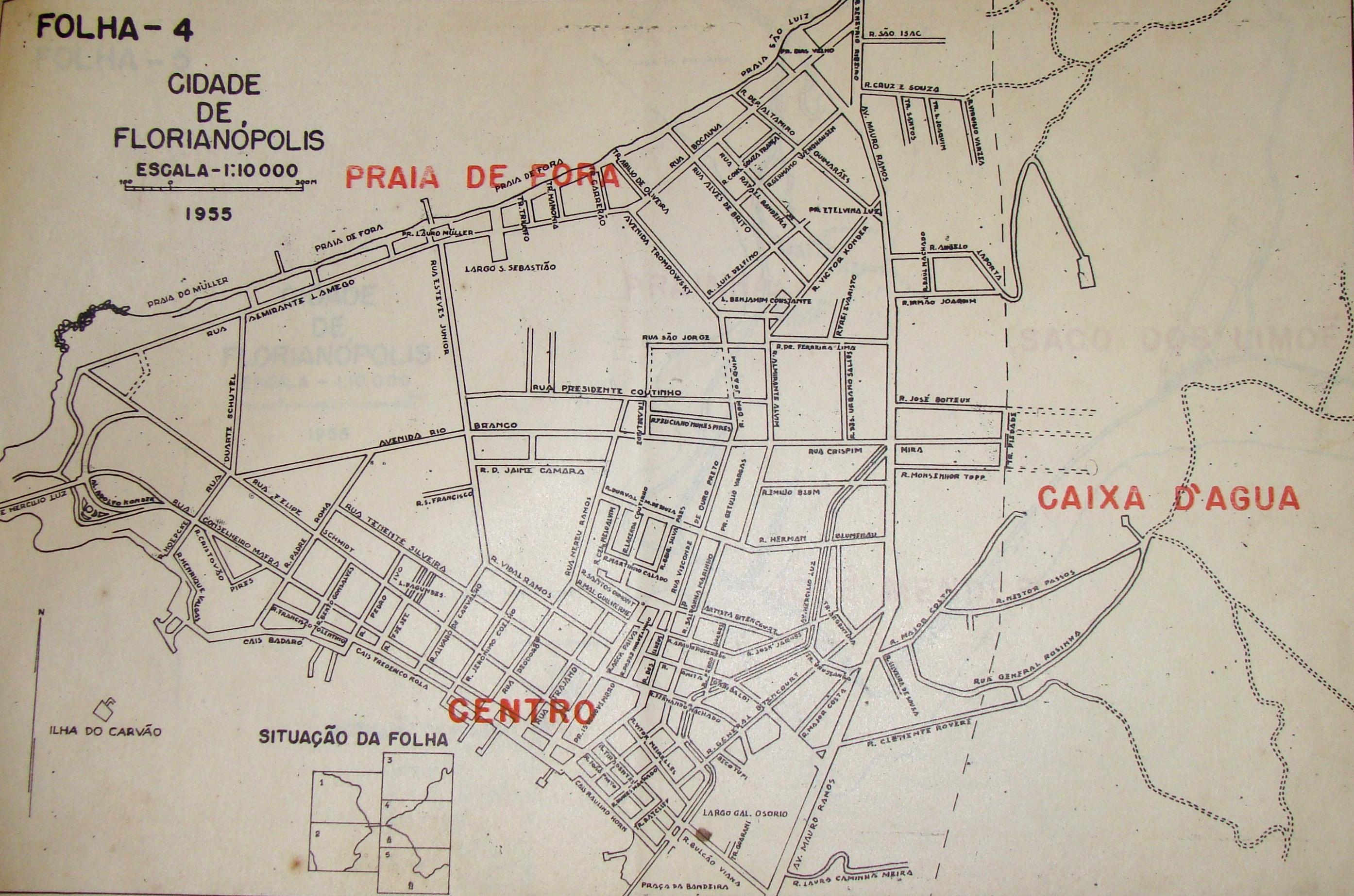 Mapas da Cidade de Florianópolis