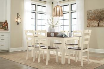 $479 Woodanville 7 Piece Dining Set Ashl