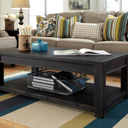 $219 Gavelston Cocktail Table Ashley Fur