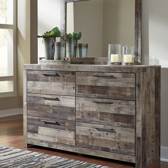 $349 Derekson Dresser w/ Mirror Ashley F