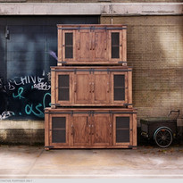 $619 Parota w/ Doors Consoles IFD
