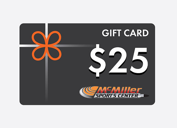 $25 McMiller Gift Card
