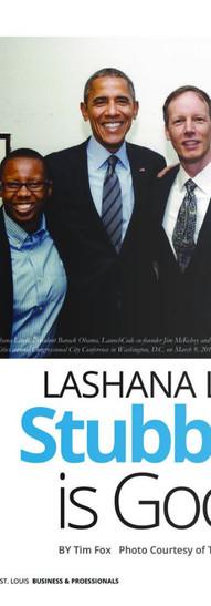 LaShana Lewis' Stubborn is Good! [I Am EStL Magazine]