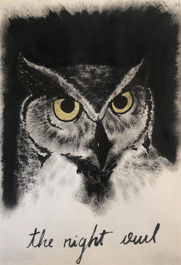 The right owl