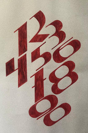 Gothic numbers