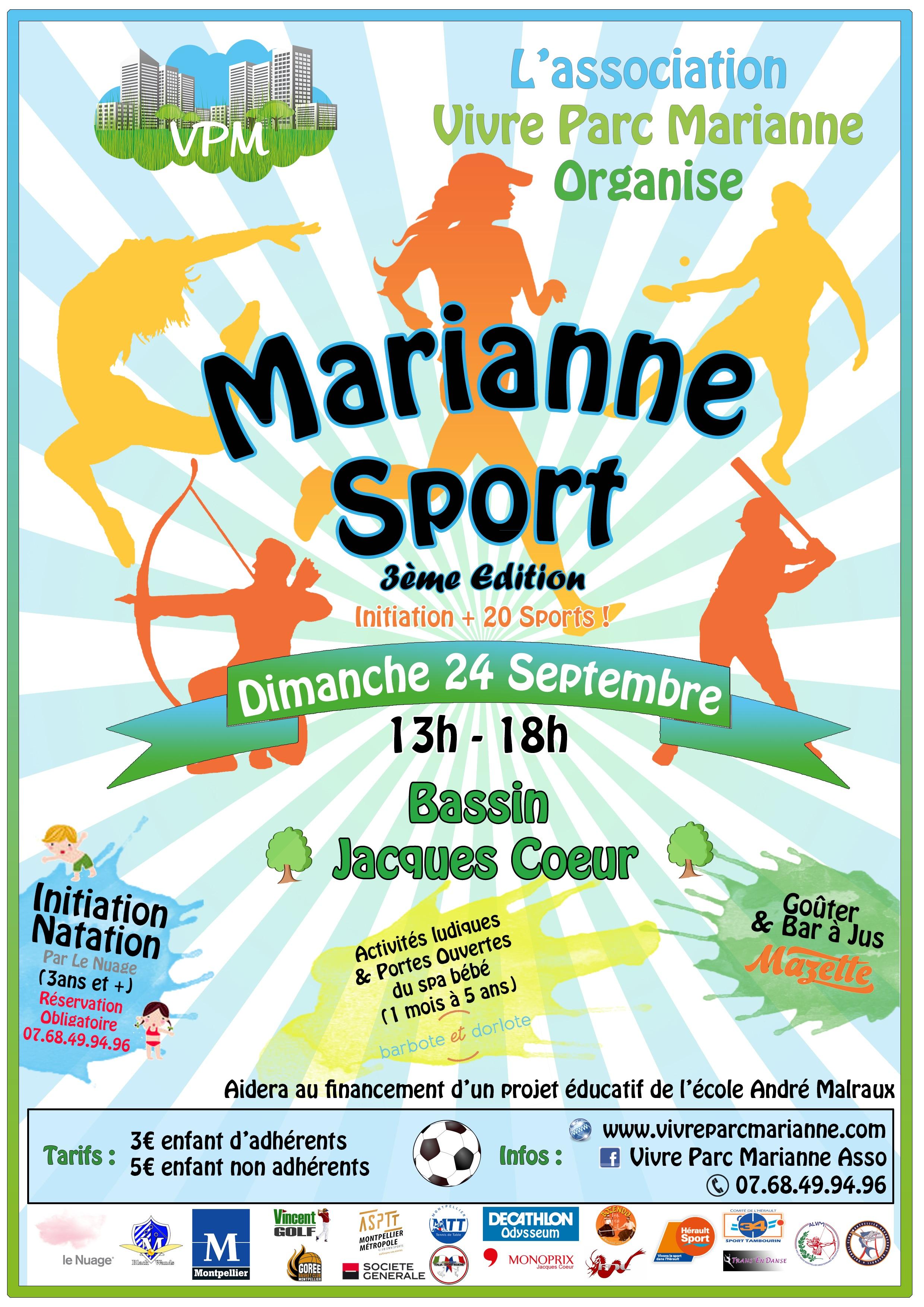 Marianne Sport 3ième édition