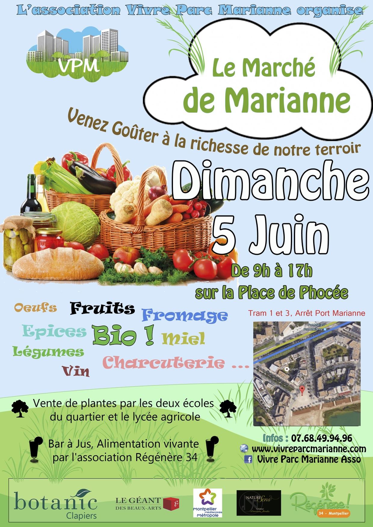 Marché de Marianne - 5 juin 2016