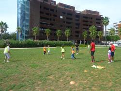 Ultimate Frisbee par l'ASPTT