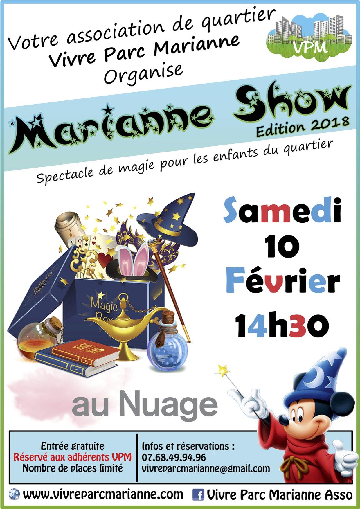 Marianne Show 2018