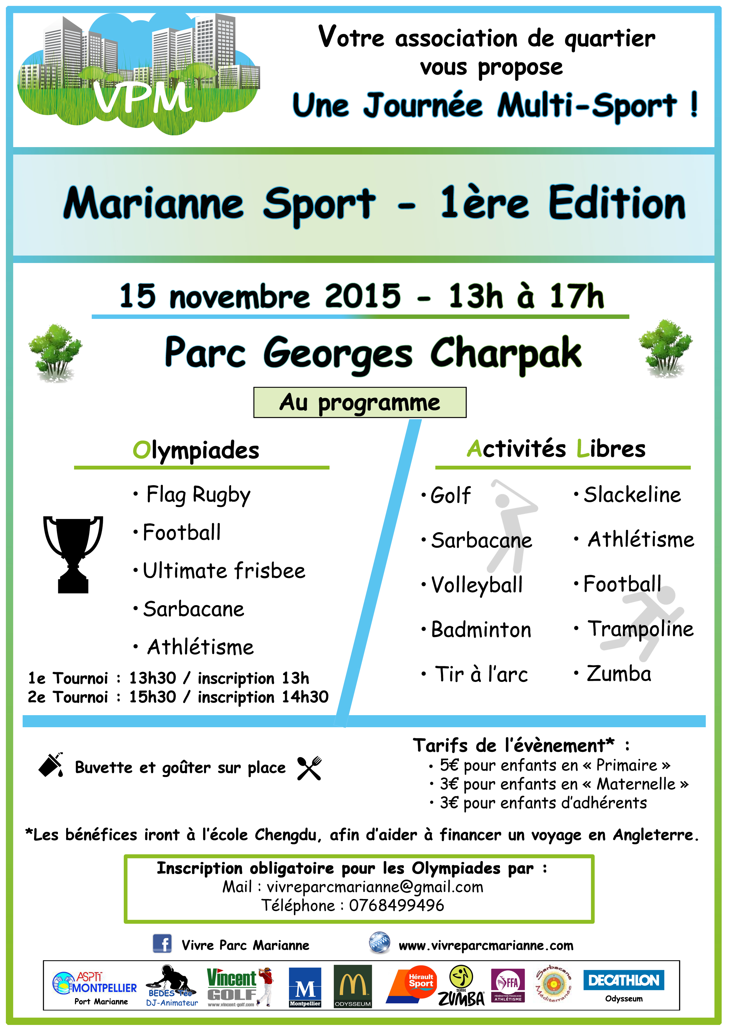 Marianne Sport 15 novembre 2015