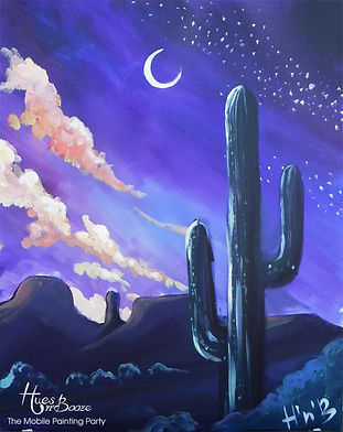 Exceptional Tucson Arizona Huesu0027nu0027Booze Mobile Painting Party | Painting Ideas