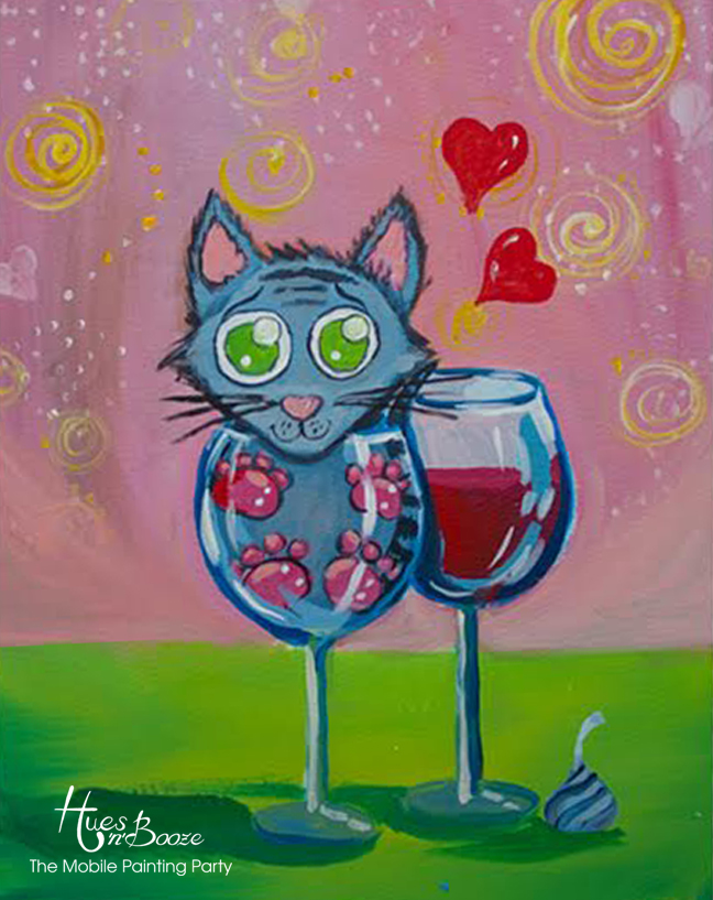 Purr Me A Glass By Hues'n'Booze