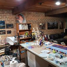 My studio Again :)