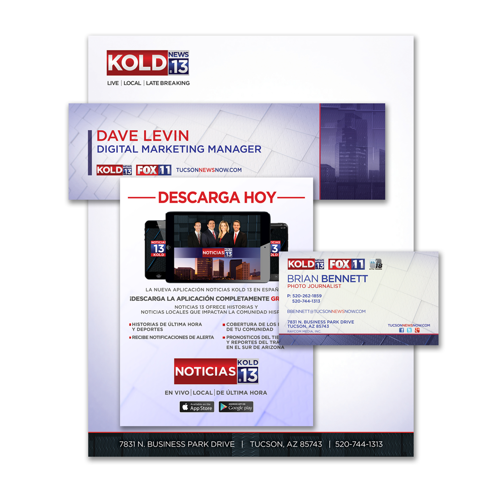 KOLD News 13 Stationery