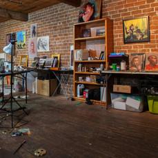 My Studio. Photo by Bob Torrez