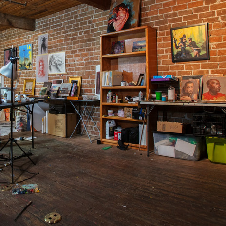 My Studio. Photo by Bob Torrez