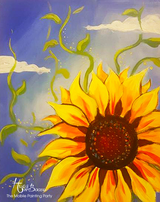 Sunflower By Hues'n'Booze