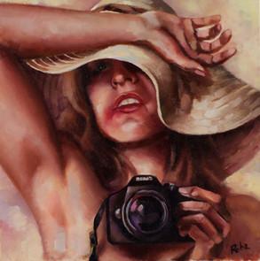"""""""Selfie in oil"""""""