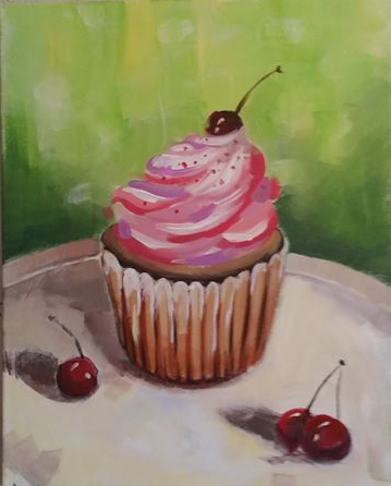 Yummy Cupcake by Hues'n'Booze