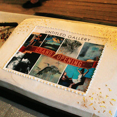 Grand Opening Cake!