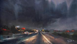 """""""Monsoon on I-10"""""""