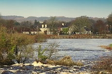 Maloney' Lodge and the River Moy