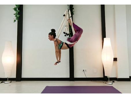 ¿ Cómo limpiamos un columpio de Yoga Aéreo?
