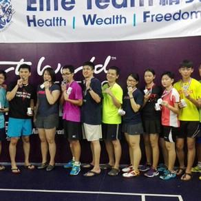 USANA(精英盃)混合團體羽球賽