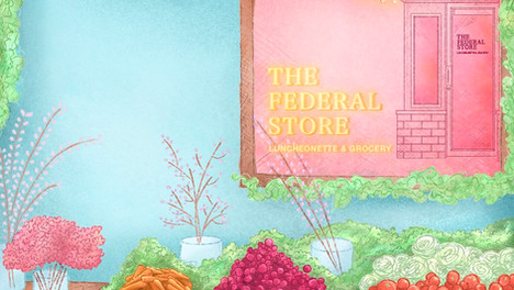 THE FEDERAL STORE | ANIMATED ILLUSTRATION