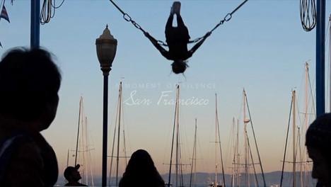 A MOMENT OF SILENCE   SAN FRANCISCO