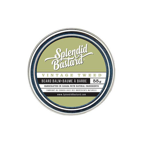 SPLENDID BASTARD BEARD BALM - VINTAGED TWEED