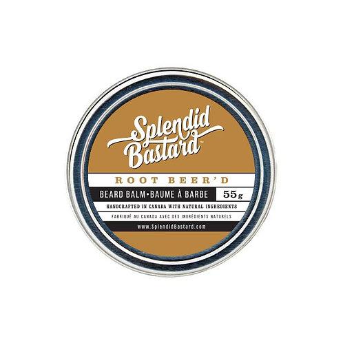 SPLENDID BASTARD BEARD BALM - ROOT BEER'D