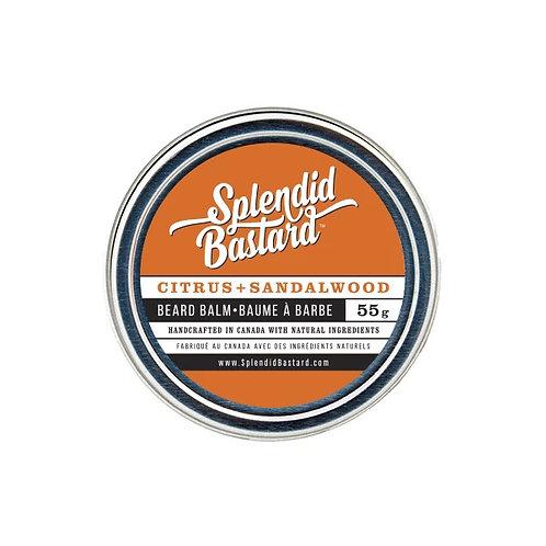 SPLENDID BASTARD BEARD BALM - CITRUS + SANDALWOOD