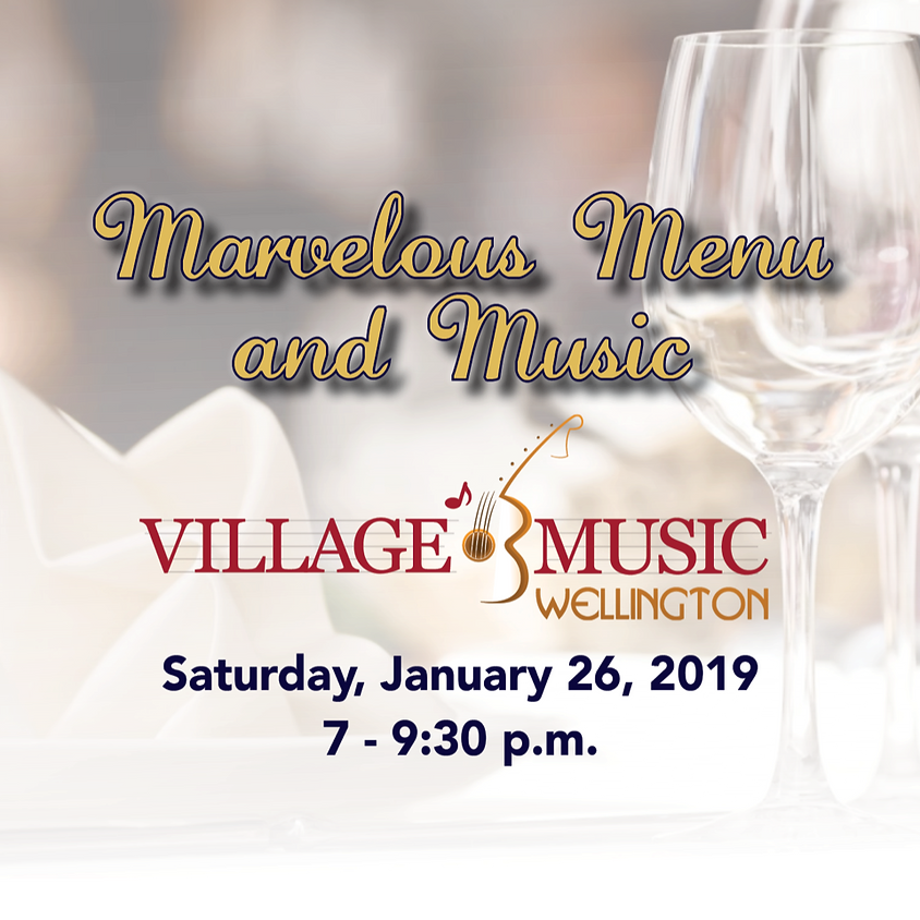 Marvelous Menu with Music