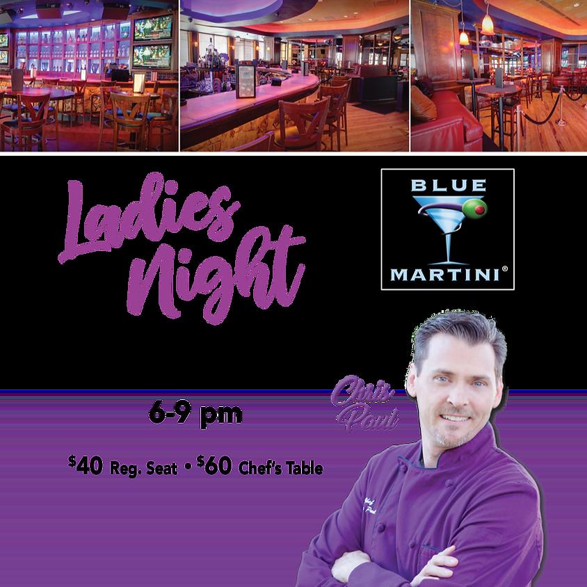 Ladies' Night at the Blue Martini