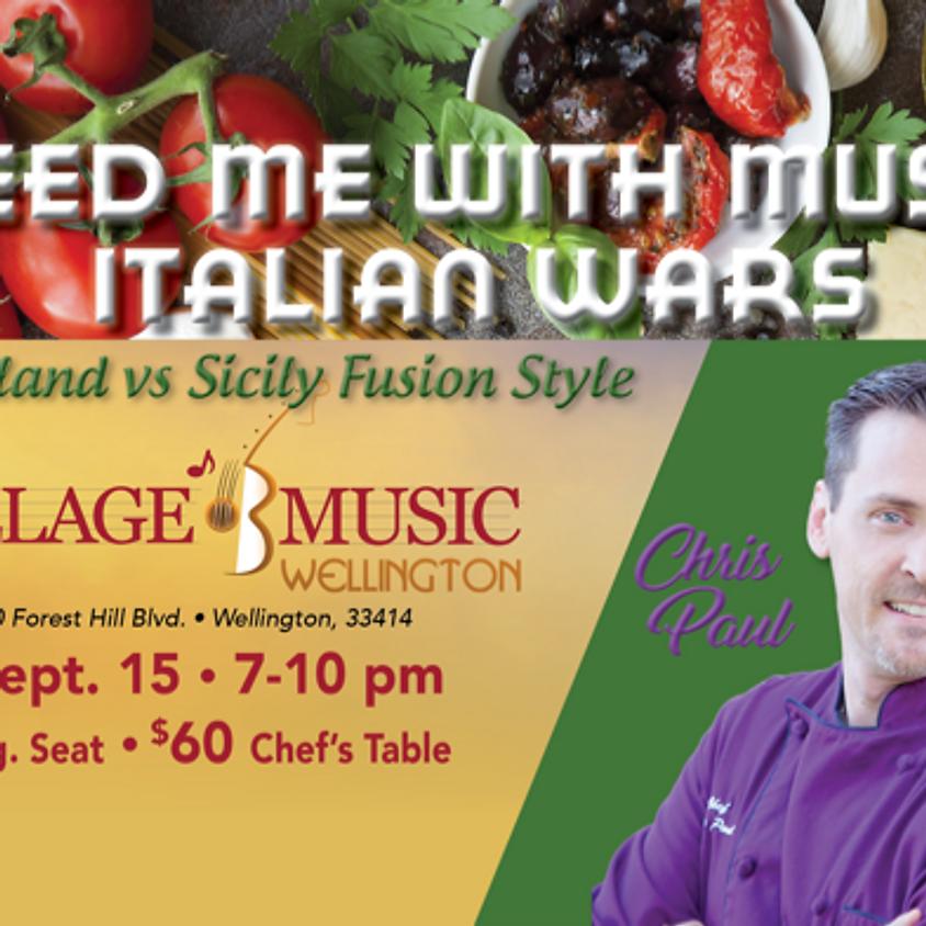 Feed Me with Music Italian Wars