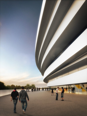 SPORT ARENA AIX EN PROVENCE  PART OF THE PROJECT TEAM AT AUER WEBER