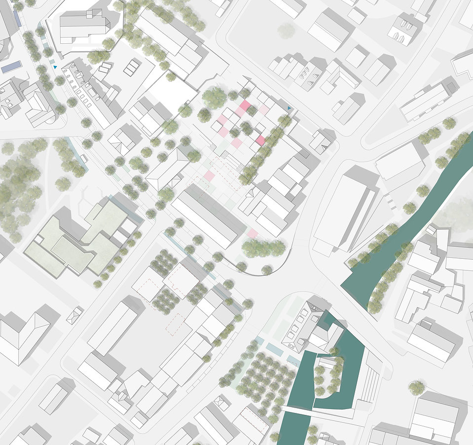 Gauting competition urban design Carmen Duplantier