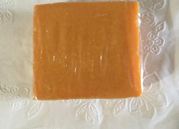 Three Papaya and Carrot soap