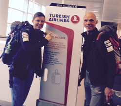 Fly with Turkisch