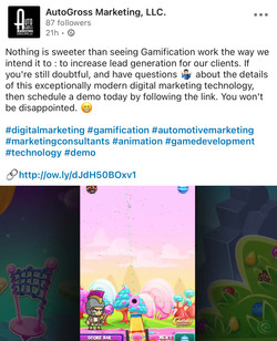 AutoGross Marketing Social Media Post: LinkedIn