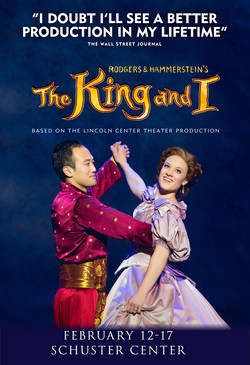 King and I Postcard Front