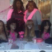 Freewgs fo cancer at salon dejuan