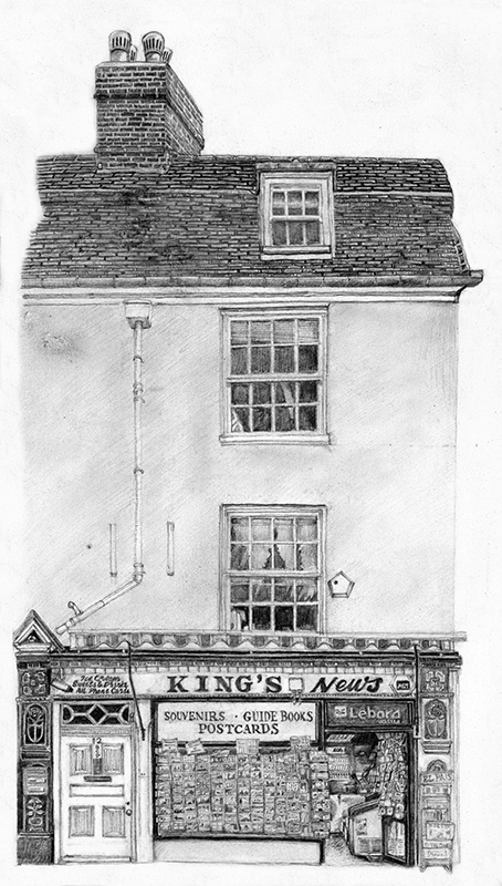 Kings Newsagents, Cambridge