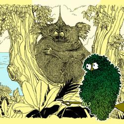 Leaf Owl & The Cuddling Koalas